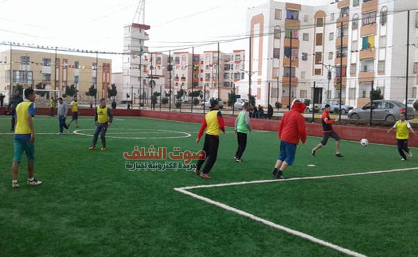 03 ملاعب جوارية تتدعم بها بلدية أولاد فارس