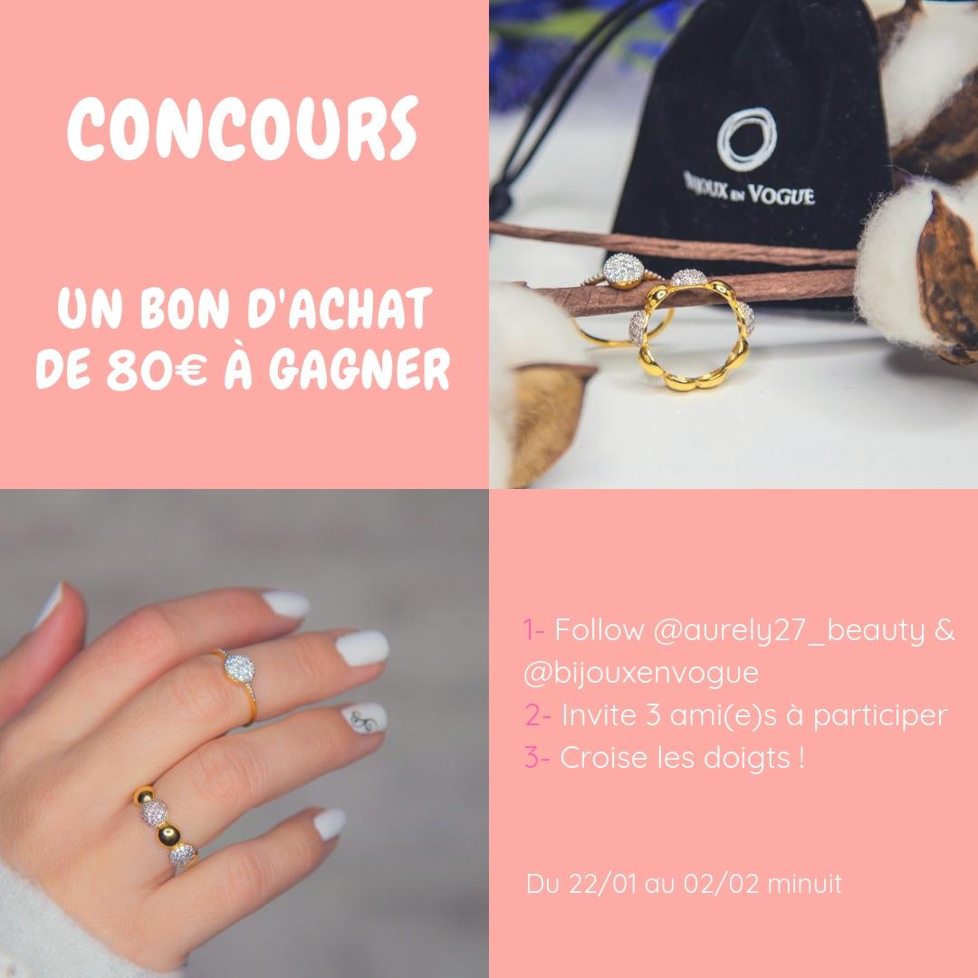 Les bagues du site bijoux en vogue + concours