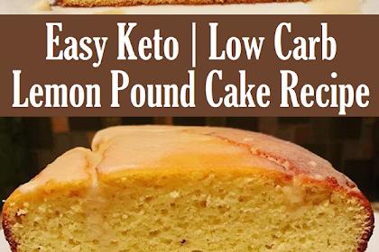 Easy Keto Lemon Pound Cake Recipe
