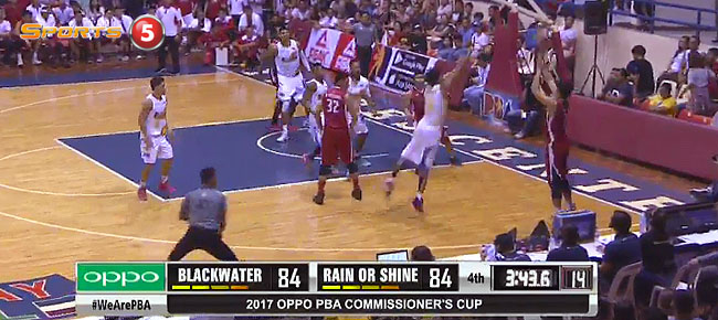 Rain or Shine def. Blackwater, 95-88 (REPLAY VIDEO) March 26