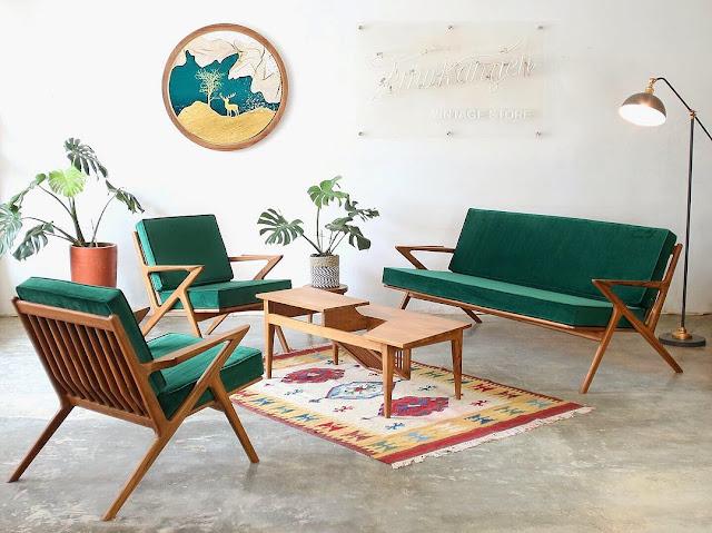 Kursi Kayu Minimalis untuk Ruang Tamu Kecil