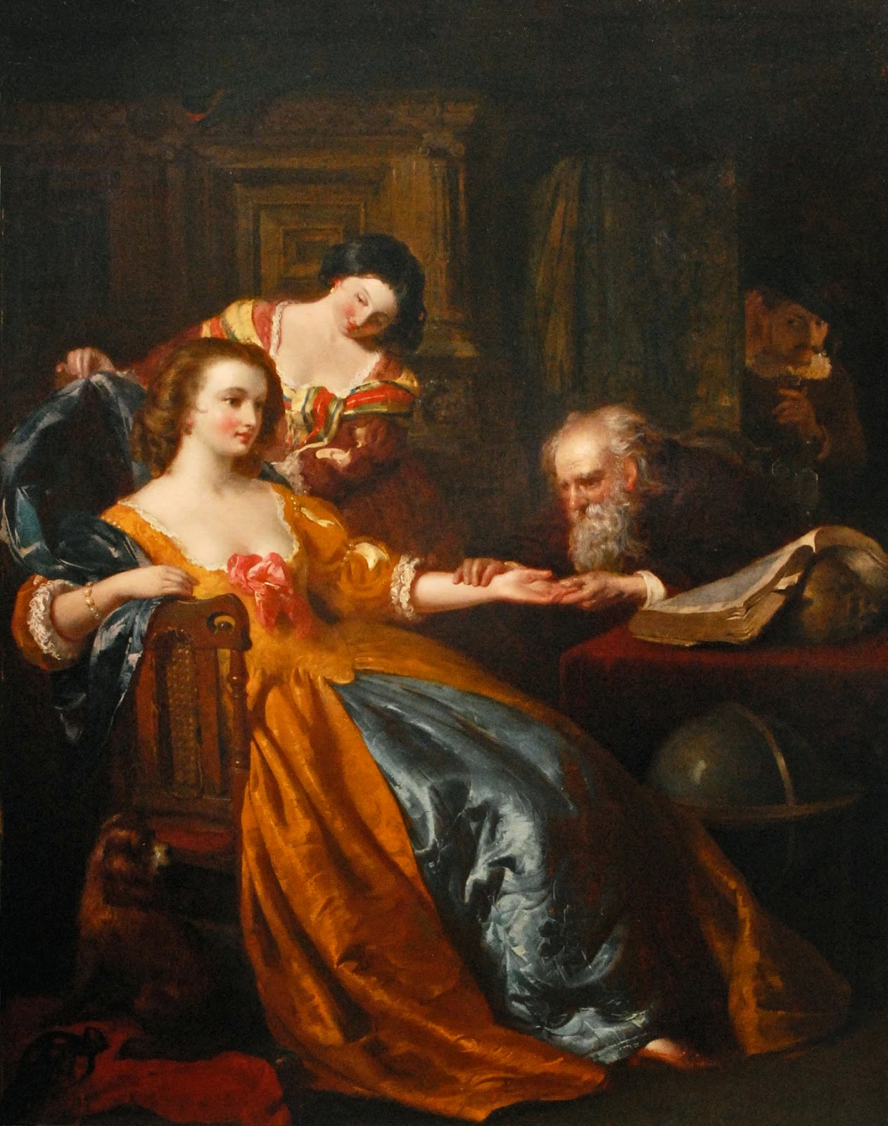 The Fortune Teller: Victorian British Painting: Thomas Heaphy