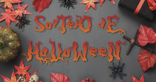 Sorteio de Halloween - GETTUB e Blogs amigos