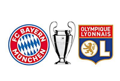 توقيت مباراة بايرن ميونخ و ليون ضد دوري الأبطال و التطبيقات الناقلة