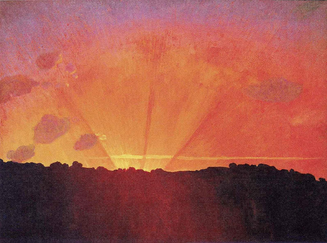 Felix Vallotton, sunrise sunset