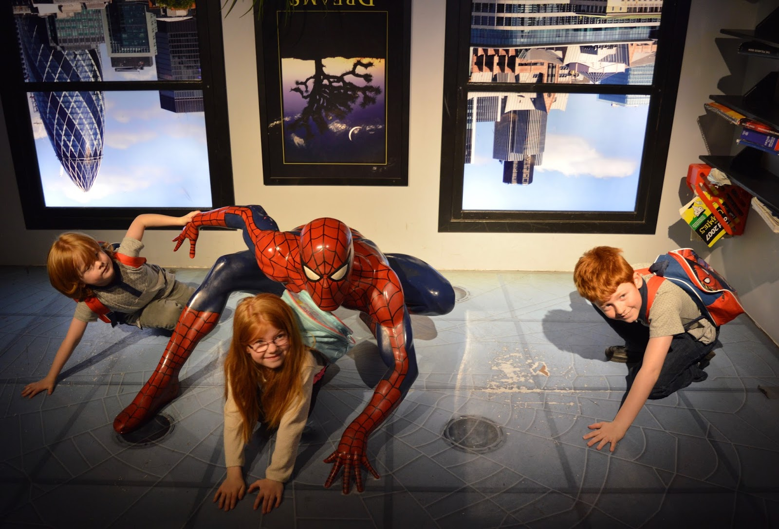 A family day trip to London with Virgin Trains East Coast - Madame Tussauds Spiderman