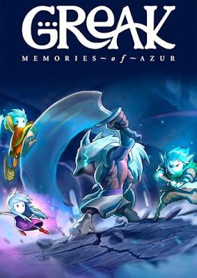 Capa do Greak: Memories of Azur
