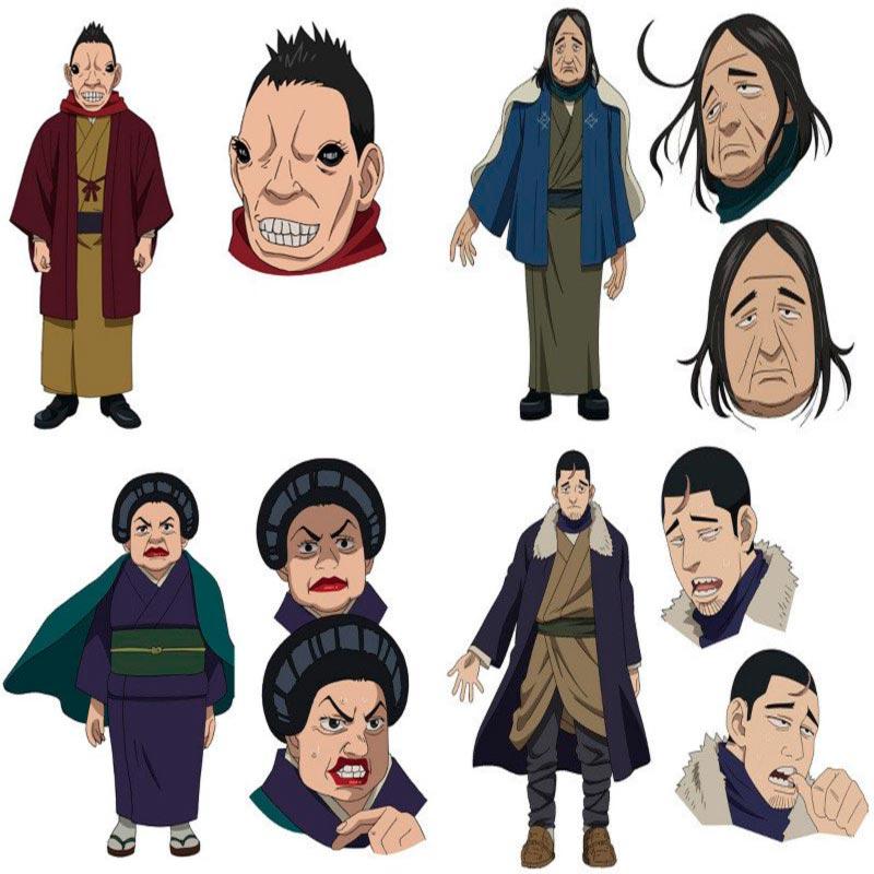 Golden Kamuy OVA personajes