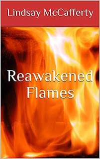 Reawakened Flames - a story of mental illness set in a fantasy realm book promotion Lindsay McCafferty