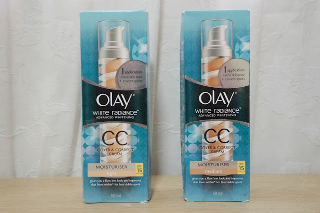 Haul: Olay White Radiance CC Cover & Correct Cream SPF 15 from Luxola
