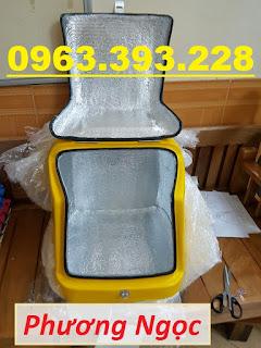 Thùng chở rác thải y tế sau xe máy, thùng vận chuyển rác thải lây nhiễm B9f5753b73f491aac8e5