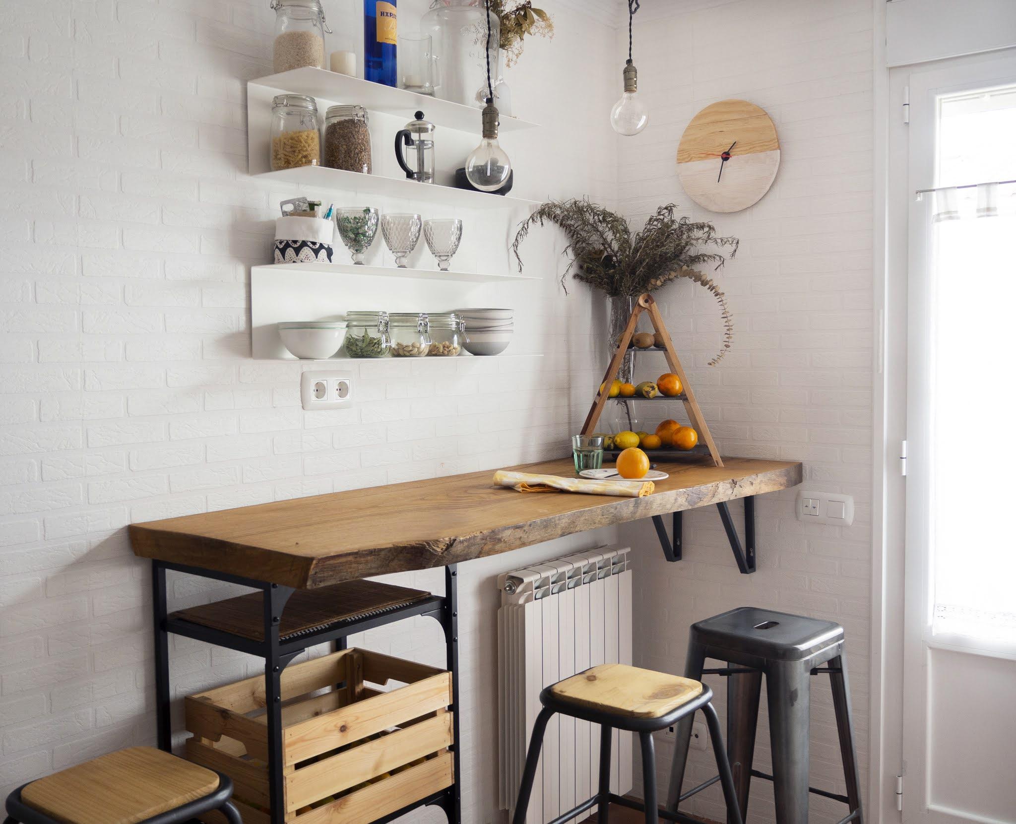 DIY Reloj de madera para nuestra cocina11