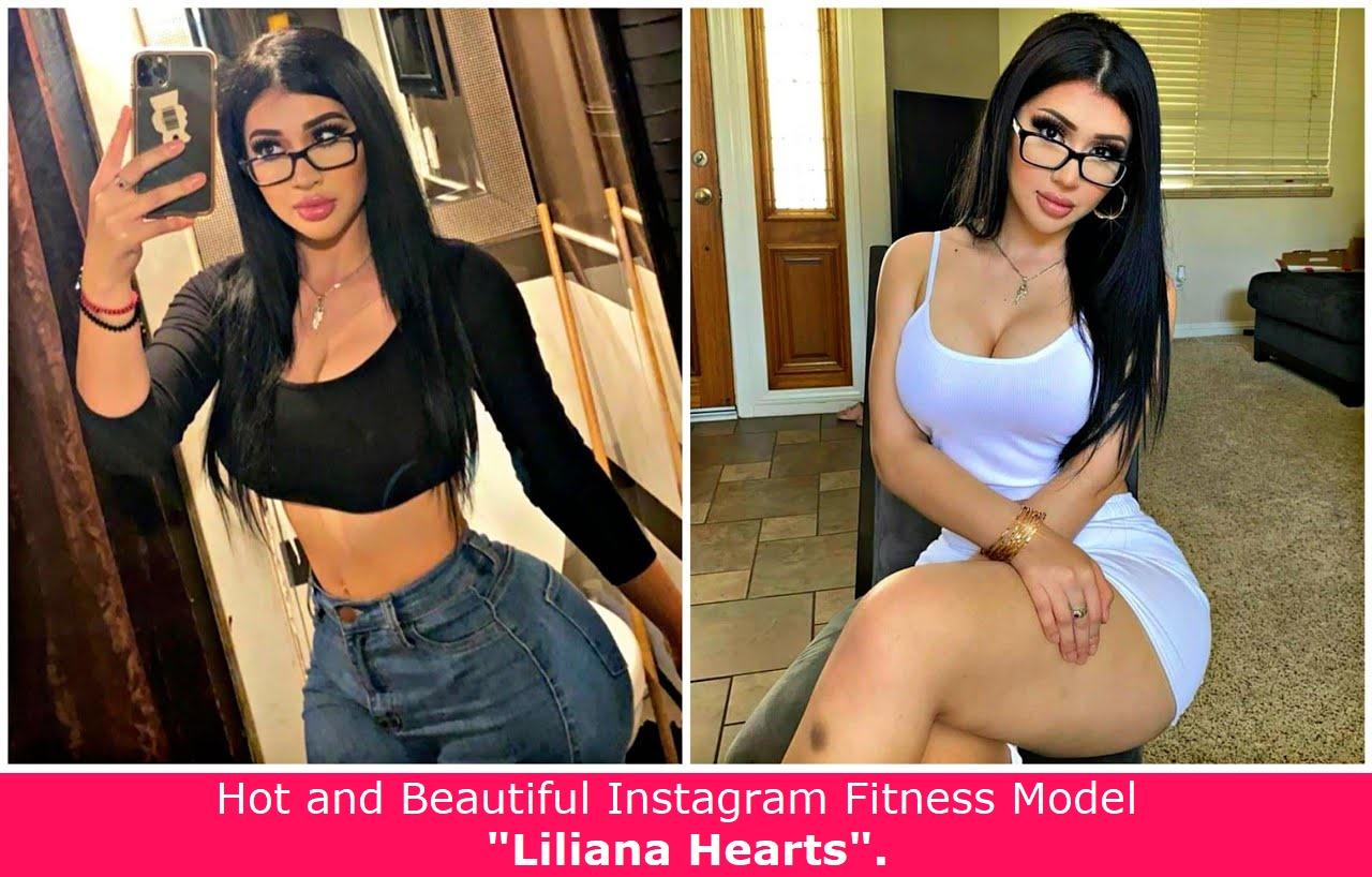 Hot and Beautiful Instagram Celebrity - Lili Liliana Hearts.