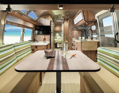 Airstream Travel Trailer Interior Decor Tommy Bahama