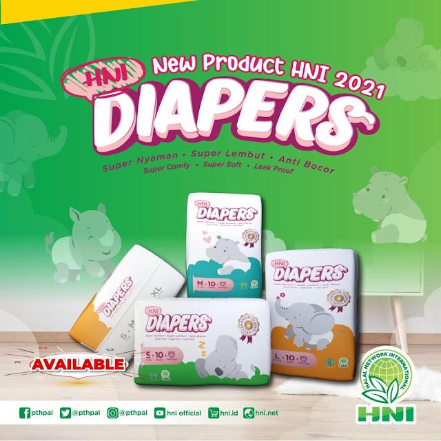 Pampers Diapers HNI HPAI Produk Terbaru dari HNI HPAI 2021
