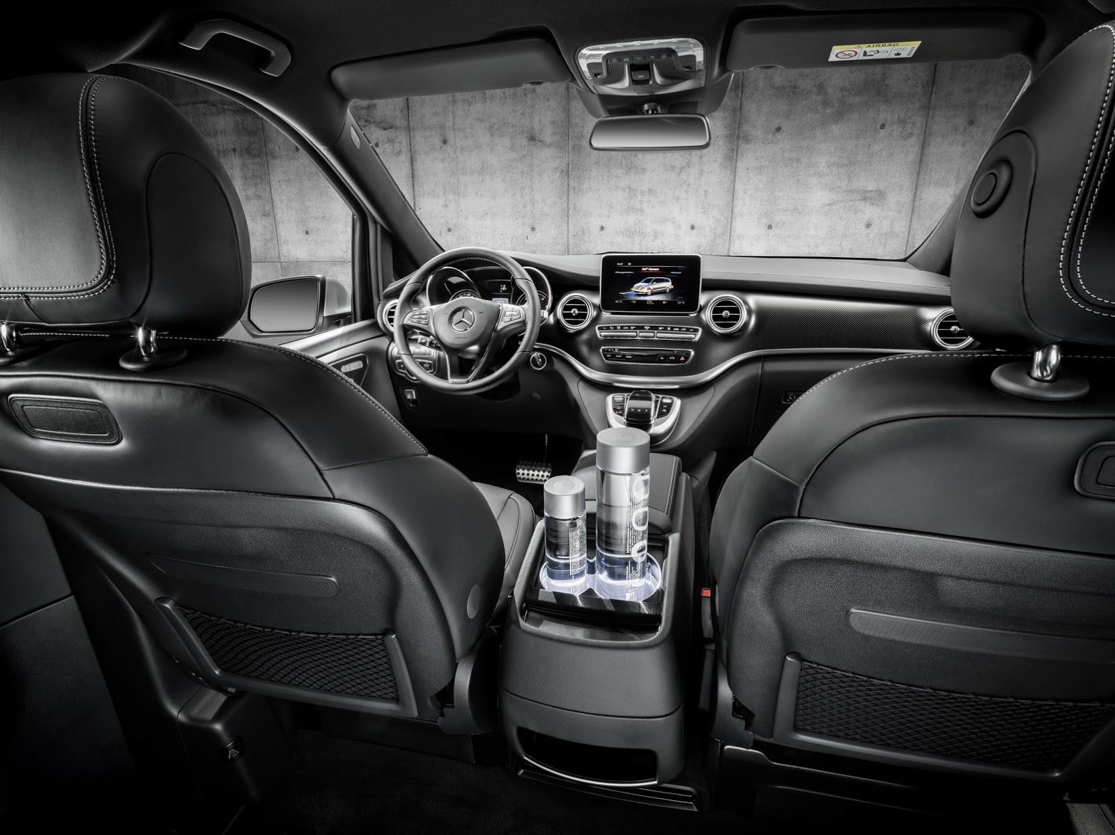 Mercedes-Benz V-Class chính thức được sản xuất & bán tại Trung Quốc