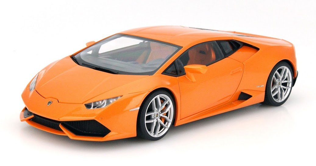 Modellauto News Lamborghini Hurac 225 N Lp 610 4 Als Modell Von Autoart Im Ma 223 Stab 1 18 Erh 228 Lt Note 1