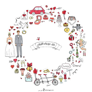 تهنئة مبروك الزواج 2018