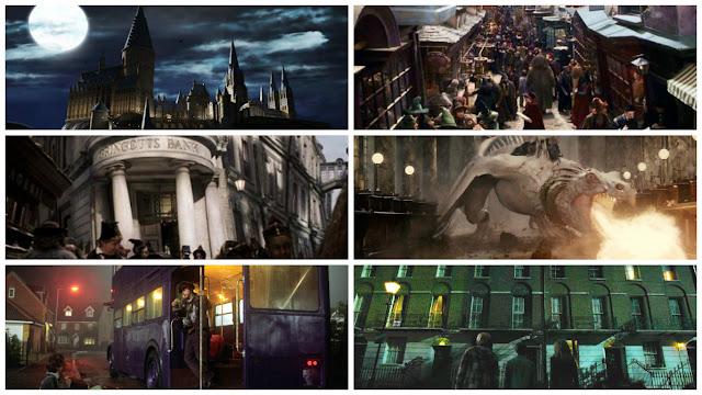 Cenas dos filmes de Harry Potter