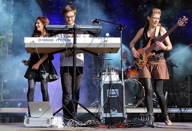 Natalia Szroeder i Liber - koncert 2014 - Kobierzyce 24.08.2014 występ, na żywo