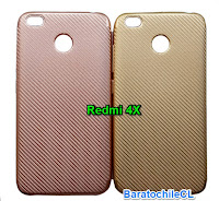 Protector gel dorado Xiaomi redmi 4X