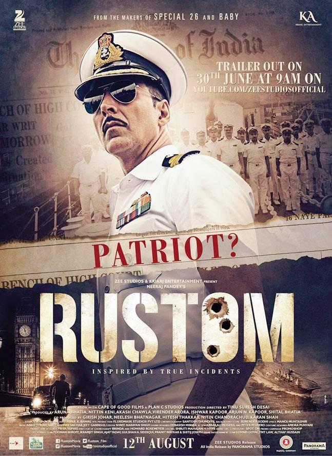 Xem Phim Sĩ Quan Rustom 2016