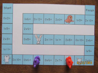 Winter Animals Multiplication Games