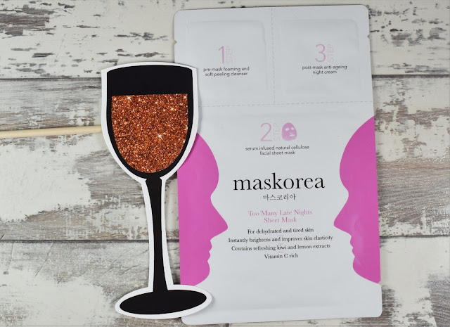 Maskorea Too Many Late Nights Sheet Mask