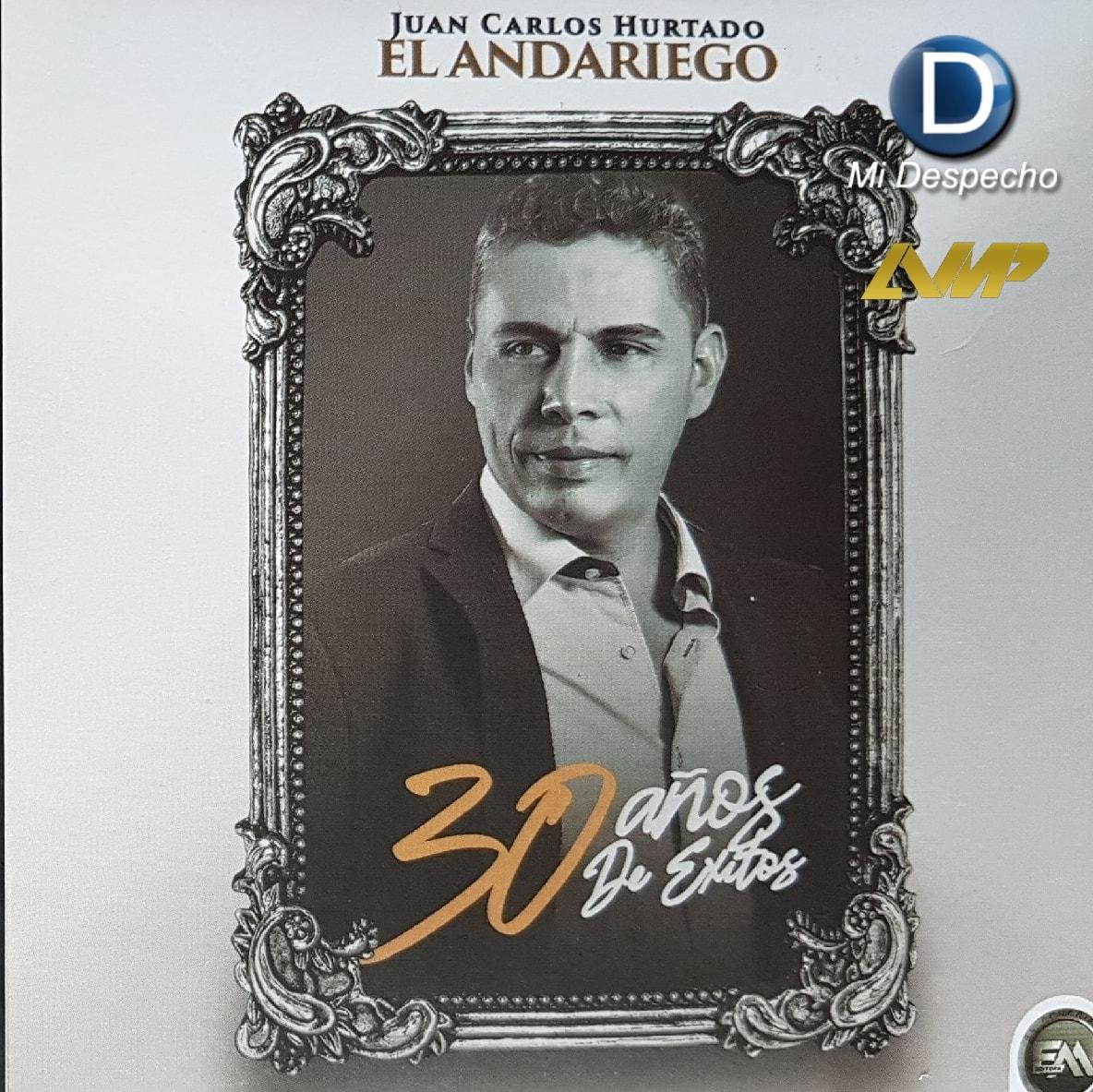 Juan Carlos Hurtado 30 Años de Éxitos Frontal