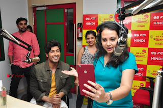 Vidyut Jamwal Adah Sharma Commando 2 Movie Team at Radio Mirchi 95  0037.jpg