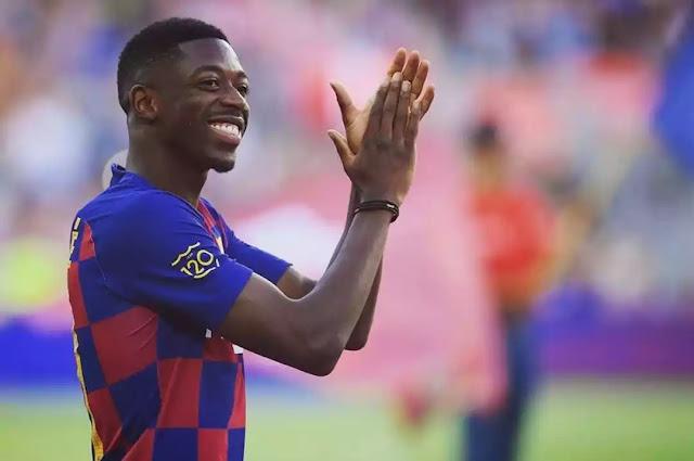 Ousmane dembele latest transfer news