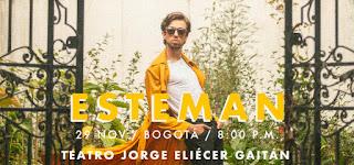 Concierto de ESTEMAN en Bogotá 2018