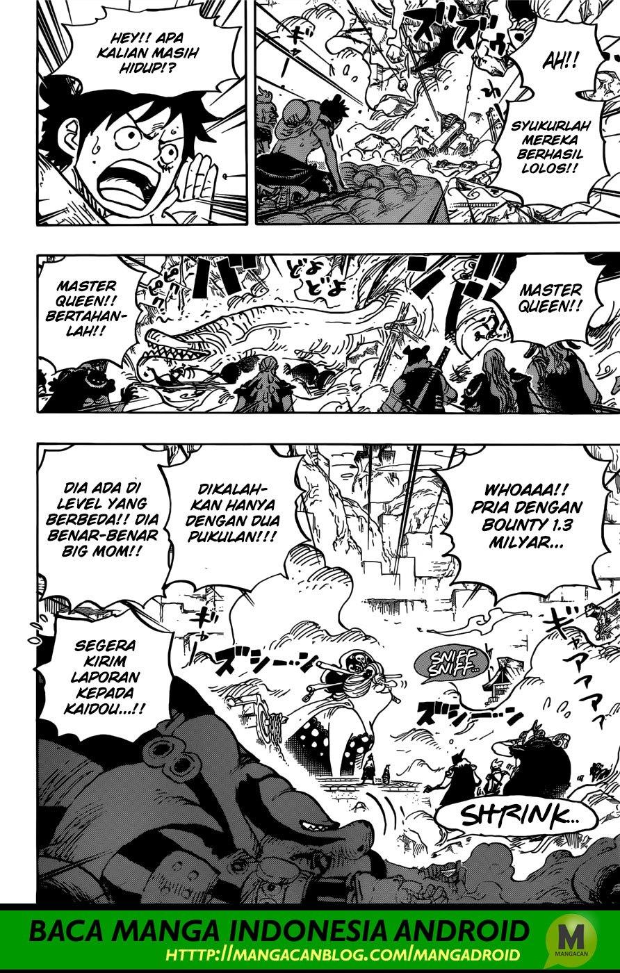 One Piece Terbaru Chapter 946 Queen VS O-Lin