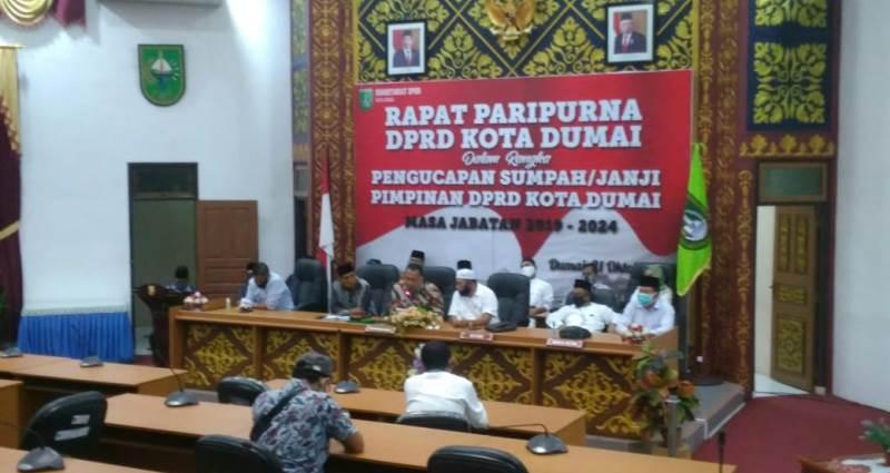 DPRD Dumai Minta Langkah Hukum Terkait Pelanggaran Kunjungan ke Ruang Isolasi