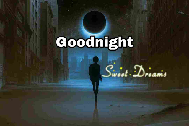 sweet dreams moon light Good Night Image
