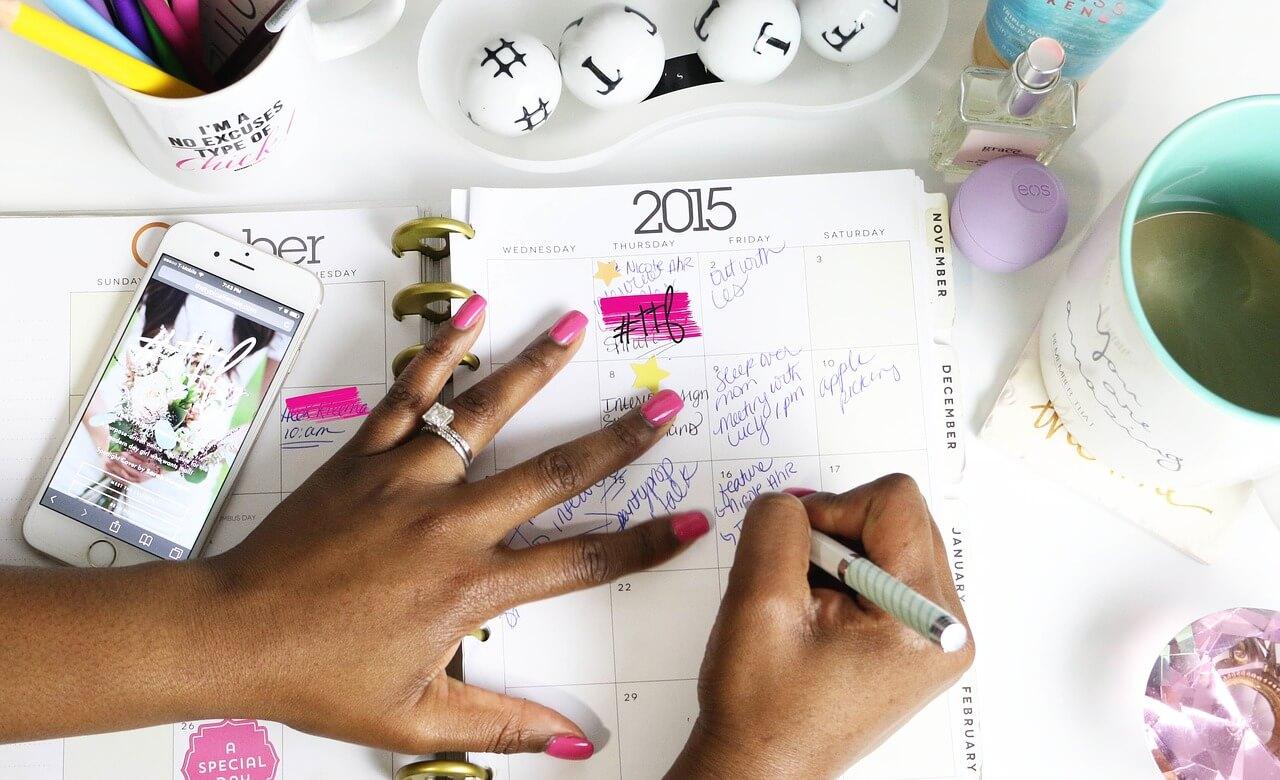 Como se organizar com um blog