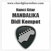 Chord Didi Kempot Mandalika