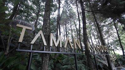 Lokasi Taman Kardus Bandung