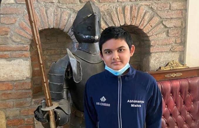 Abhimanyu Mishra youngest chess Grandmaster