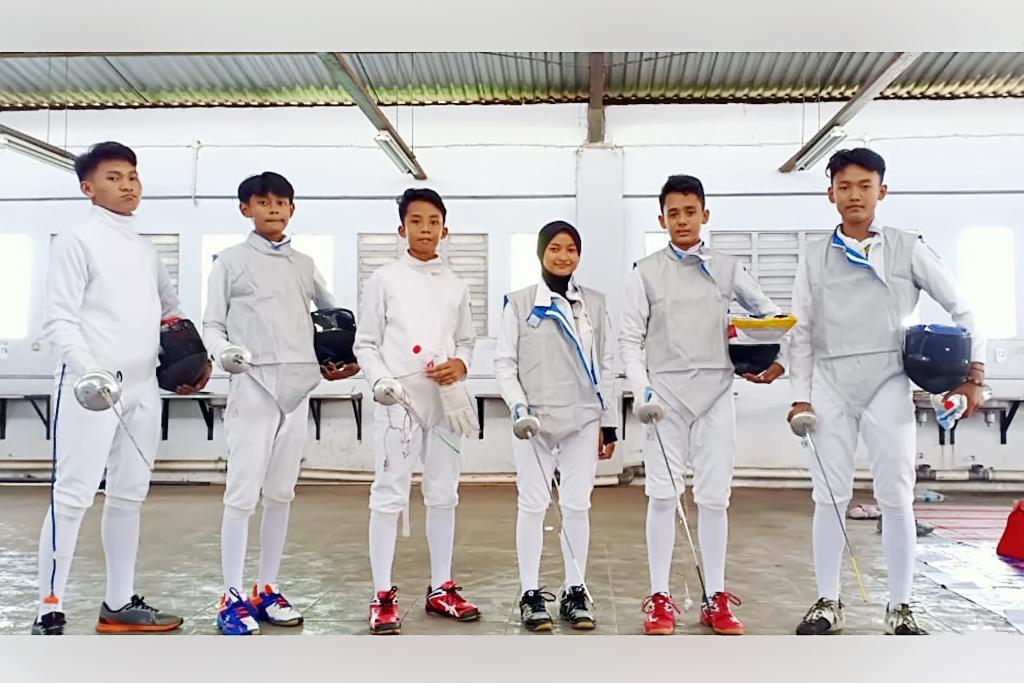 Atlet Anggar Lumajang Raih Medali di Kejurnas