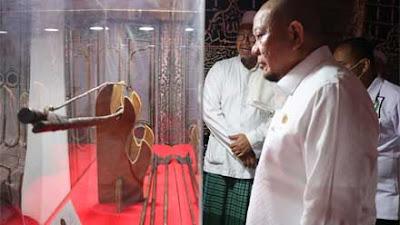 Lihat Artefak Peninggalan Nabi Muhammad SAW, LaNyalla Berharap Bisa Meneladani