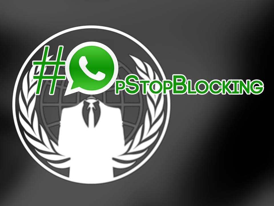 Anonymous derruba site da Justiça Federal de Sergipe após bloqueio do WhatsApp