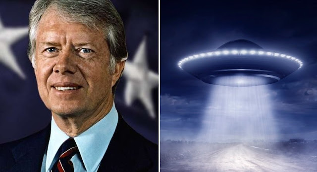 President Jimmy Carter In 1969 Witnessed UFO