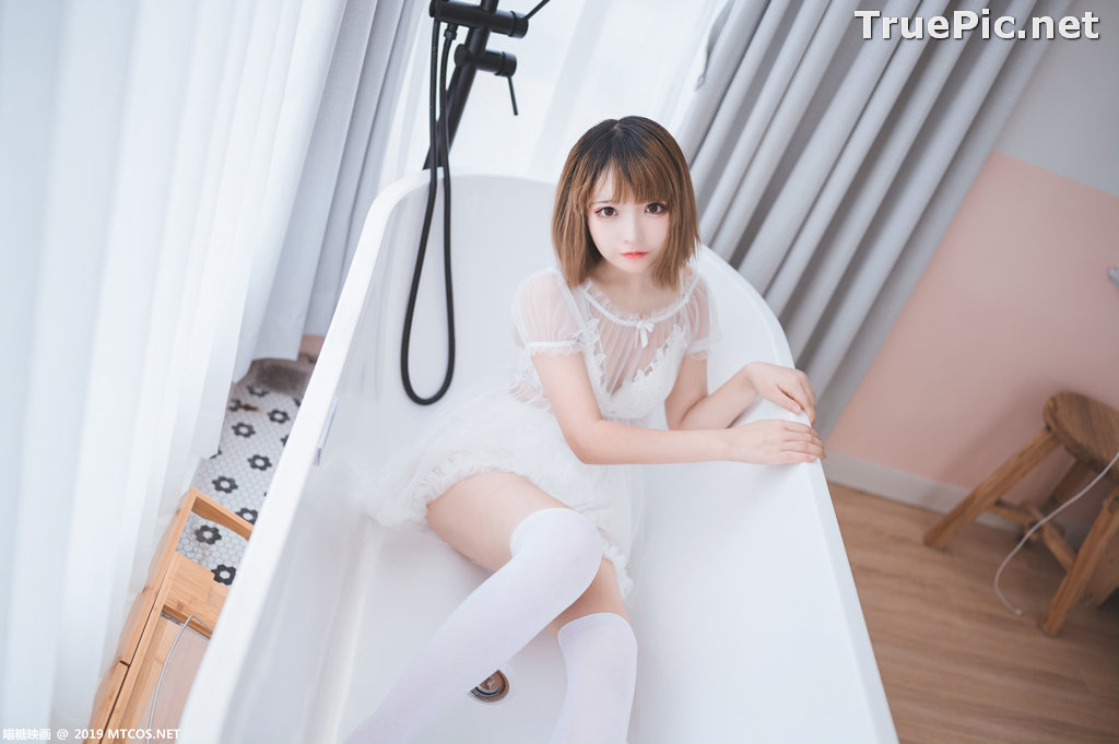 Image [MTCos] 喵糖映画 Vol.025 – Chinese Cute Model – Beautiful White Story - TruePic.net - Picture-7