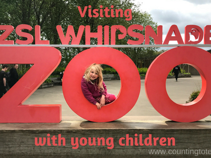 Visiting Whipsnade Zoo With Young Children