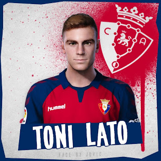 PES 2020 Faces Toni Lato by Jovic
