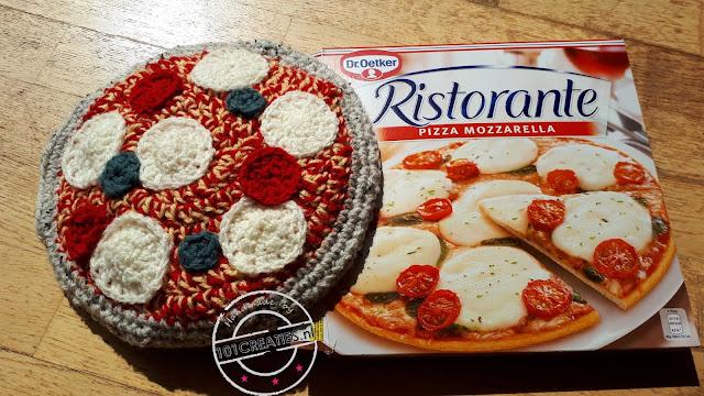 surprise gehaakte pizza