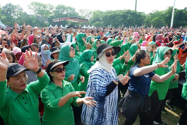 KodimKaranganyar - Live Streaming Panggung Gembira Indosiar di Karanganyar