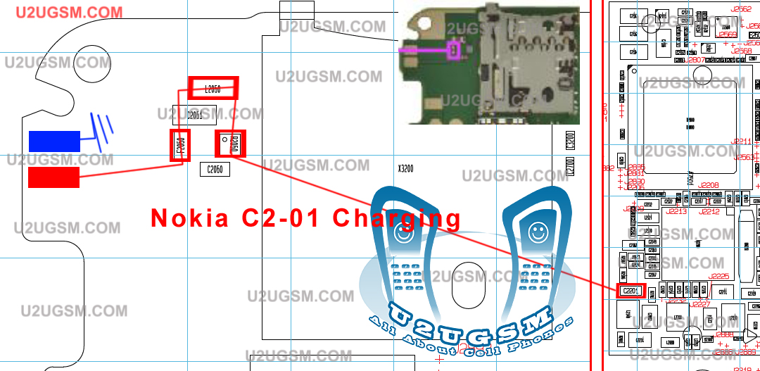 Cell Firmware: C201 Nokia Not Charging Problem Solution