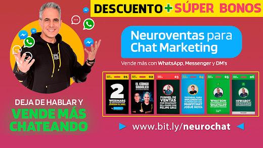 🔴 NEUROVENTAS PARA CHAT MARKETING + 12 BONOS